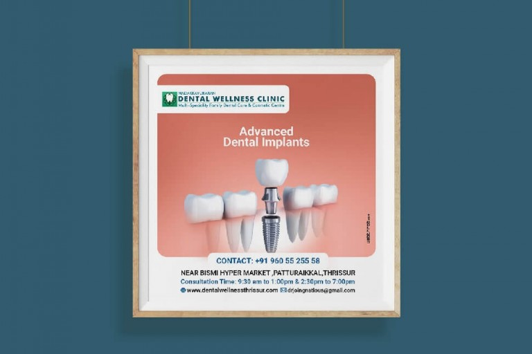 Dental Wellness Clinic Webthrob Advertising Agency in Kerala Website Designing Agency in Kerala Social Media Marketing +917034034444-Featured